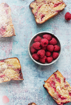 Raspberry, Coconut & White Chocolate Loaf