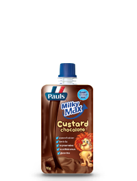 Pauls Milky Max Custard Pouch Chocolate