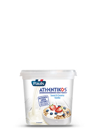 Athentikos Greek Yoghurt Sweet & Creamy Vanilla