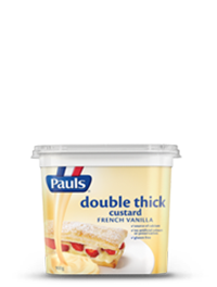 Double Thick Vanilla Custard