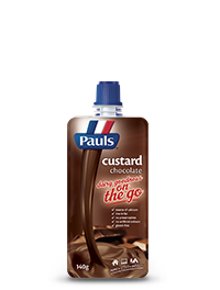 Chocolate Custard Pouch