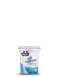 All Natural Yoghurt 99.8% Fat Free