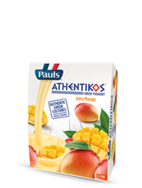 Athentikos Greek Yoghurt Juicy Mango