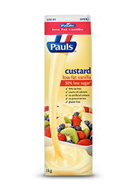 Low Fat Vanilla Custard