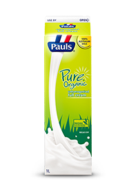 Pure Organic Unhomogenised Full Cream