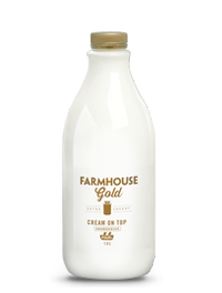 Farmhouse Gold Cream On Top
