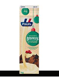 Brandy Flavoured Custard
