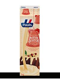 Butterscotch Flavoured Custard